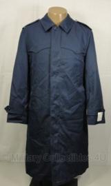 KLU luchtmacht lange mantel regenjas met voering - maat 48 - nieuw  - origineel