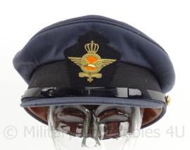 KLu Luchtmacht GLT Gala tenue pet 1987 - met embroidered insigne - maat 56 - maker Hassing BV - origineel