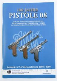 Naslagwerk 100 jahre Pistole 08 Bundesamt fur Wehrtechnik und Beschaffung - Duitstalig - 29,5 x 20,5 x 0,5 cm