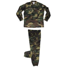 Italiaanse woodland uniform jas MET broek - ONGEBRUIKT - maat 56 (= Extra Large) - origineel