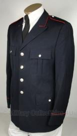 Donkerblauwe Italiaans Carabinieri politie uniform jas - rode bies - maat 46 tm. 58 - origineel