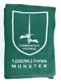 Deken 1 GE NL Corps Munster 188 x 150 cm - top staat ! - origineel