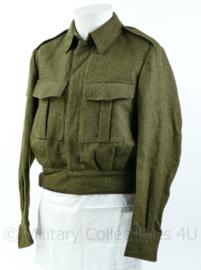 Korps Mariniers MVO Battledress uit de jaren 50  - Maat 47 - Origineel