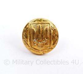 Oekraïense leger knoop goudkleurig - 12 mm - origineel