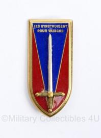 Franse leger Insigne van École Spéciale Militaire de Saint-Cyr  - 5 x 2 cm - origineel