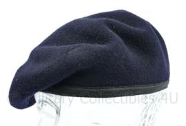Britse leger donkerblauwe baret - merk Kangol  - maat 7 = 54 - origineel
