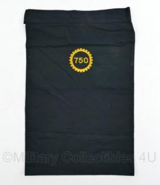 KL Nederlandse leger halsdoek 750 Hersteleenheid - zwart - origineel