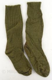 MVO sokken - groen - maat 41 - lijken op WO2 US model - origineel