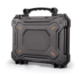 Tactical padded case voor kijkers of wapens - 28 x 32 x 8,5 cm