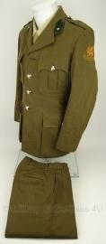 Nederlands leger geneeskundige dienst Uniform jas MET broek Luitenant 1958 - geborduurde insignes! maat 48 origineel