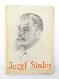 Boek - Jozef Stalin - Max van Poll - afmeting 13 x 19 cm - origineel