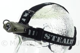 Hoofdlamp - SPECIAL CA 3029-A - ideaal voor op helmen e.d. - in groen