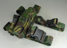 KL Nederlandse leger beenholster sneltrekker Glock 17 Woodland - rechtshandig - origineel