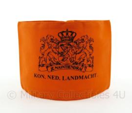 Armband Nederlandse Landstorm armband Kon. Ned. Landmacht oranje