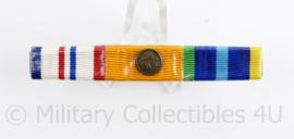 Nederlandse medaille baton met 3 medailles - HMV4/Huisorde van Oranje/Marinemedaille - 8,5  x 1,5 cm - origineel