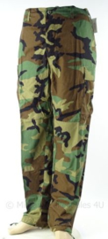 US Army of korps Mariniers woodland uniform broek - ONGEDRAGEN - Small Reg, Medium Short, Medium Long of Large Reg.  - origineel