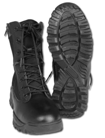 Security tactical boots Black - double zip