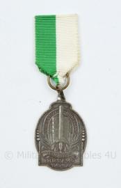 Gemeentepolitie 1945-1970 medaille HPSV De Haaglandse Politie Sportvereniging - 9 x 3 cm - origineel