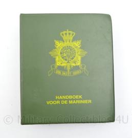 Handboek voor de Mariniers Korps Mariniers zeldzaam uitgave 1996 - origineel