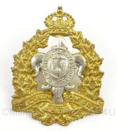 WO2 Canadees baret of pet insigne Le Regiment de Maisonneuve - afmeting 4 x 5 cm - origineel