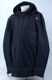 DB winterjas met voering en reflectie - donkerblauw - maat 50 - nieuw - origineel