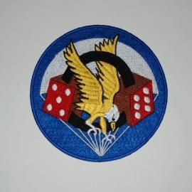 506th uniform PATCH - diameter 8 cm