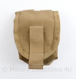 Defensie en Korps Mariniers Profile Equipment handgranaat tas coyote - nieuw - 10 x 8,5 x 5,5 cm - origineel