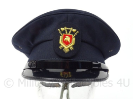 Nederlandse brandweer pet met stoffen insigne - modern model - ongedragen - maat 56,5 -  origineel