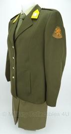 KL Koninklijke Landmacht dames DT met broekrok - maat 22 - met emblemen - origineel