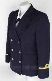 Marine dames uitgaans uniform - Donkerblauw - maat small - origineel