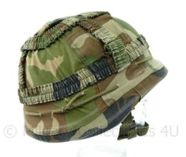 Korps Mariniers ballistische composiet helm met originele overtrek Maat M- Origineel