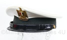 Egyptische leger wit zomer pet of Marine pet Egypte - maat 58 - origineel