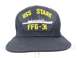USN US Navy baseball cap bemanning USS Stark FFG-31 - maat L - origineel