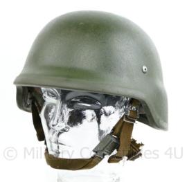 Defensie composiet helm zwaarder gebruikte maar intacte staat - maat medium - origineel