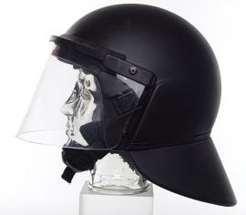 Moderne nog bruikbare ME helm / Mobiele eenheid helm - binnenwerk los - ZWART - maat 54/44 cm. - origineel