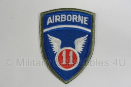 WWII US 11th Airborne Division patch