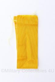 Defensie medaille lint voor medaille Trouwe dienst  - 14 cm -  geel - origineel