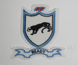 """WWII US 505th PIR Parachute Infantry Regiment patch  """"Ready"""""""
