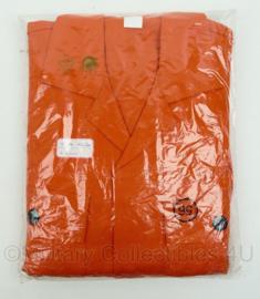 Werkoverall - oranje - nieuw in verpakking - maat 56 - origineel