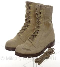 KL leger schoenen legerkisten desert - maat 270S = 43S - gebruikt - origineel