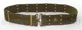 Pistol belt OD - M1951  - met stempels - origineel US Army