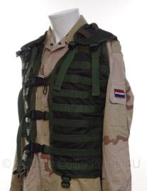 Korps Mariniers Modulair gevechtsvest - Forest Camo - zonder tassen - maat LARGE - origineel