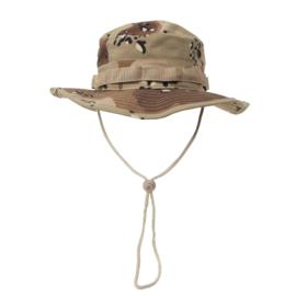 US GI Bush hat boonie Rip Stop - 1e Golfoorlog Desert camo - meerdere maten