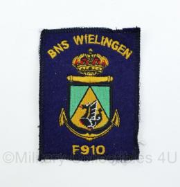 Belgische Marine F-910 BNS Wielingen embleem - origineel