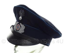 Schalkharen politie pet replica WO2 Duits/Nederlands - 58 of 59 cm.