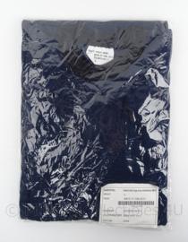 KMAR Koninklijke Marechaussee hemd/shirt lange mouw - donkerblauw - nieuw in verpakking - LARGE - origineel