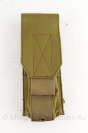 KL Nederlandse leger coyote MOLLE tas - 26 x 9,1 x 17 cm - origineel