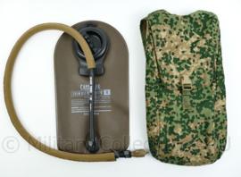 Nederlandse leger NFP Multitone Hydration pack met chem bio reservoir -  ongebruikt - origineel
