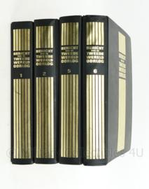Naslagserie bericht van de Tweede Wereldoorlog - deel 1,2,5 en 6 = 1 set - origineel