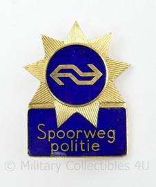 Brevet NS Spoorweg politie - 5,5 x 4 cm - origineel